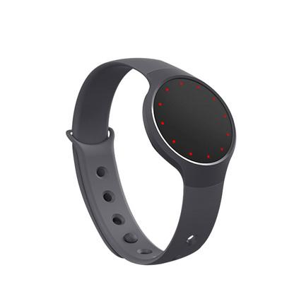 Misfit Flash 智能手環定制 瑪瑙黑(無需充電 生活防水 運動睡眠監測 時間顯示 音樂自拍手機控制)定制