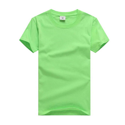 180g圓領精梳文化衫純棉T恤定制