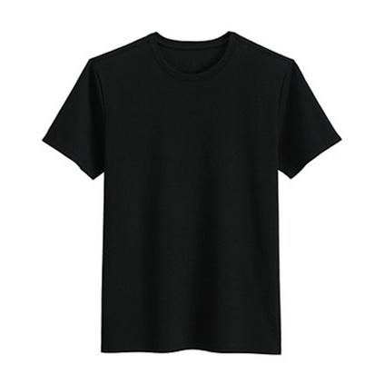 時尚男女圓領全棉T恤180g半精梳可印LOGO