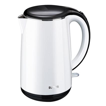 SUPOR/蘇泊爾 電熱水壺保溫304食品級不銹鋼燒水壺