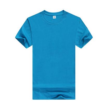 200g圓領精梳文化衫純棉T恤定制