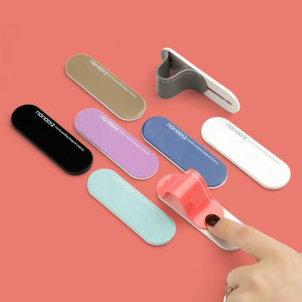 創意指環支架背貼固定支架多功能 推拉式防滑指環扣手機通用支架