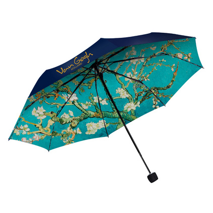 梵高油畫正版授權天堂傘晴雨傘大雙層防曬傘
