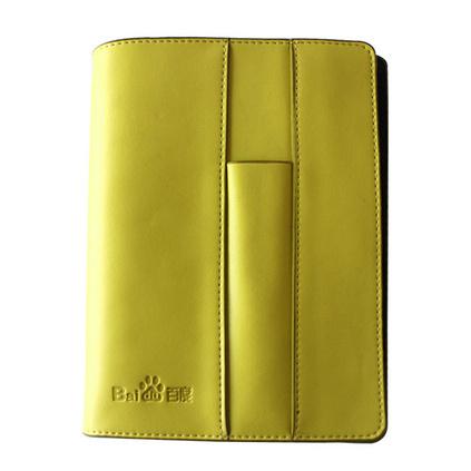 活页笔记本 商务记事本创意6孔夹皮面 日记本定制LOGO