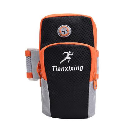 戶外跑步健身臂包 多功能防水腕包定制