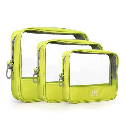時尚透明防水化妝包 女士透明化妝包便攜款