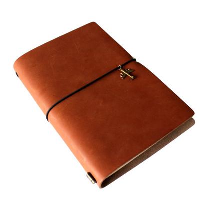 新款創意仿皮質歐式復古筆記本文具商務日記本 學生手繪筆記本記事本