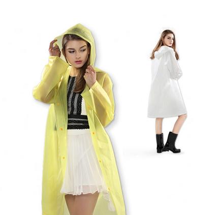 天堂正品時尚透明防水雨衣 長款戶外單人男女通用雨披