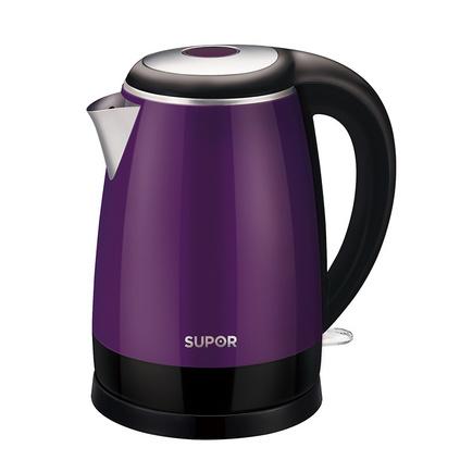 SUPOR/蘇泊爾 SWF17E18A家用電熱水壺304不銹鋼燒水壺開水壺煮茶