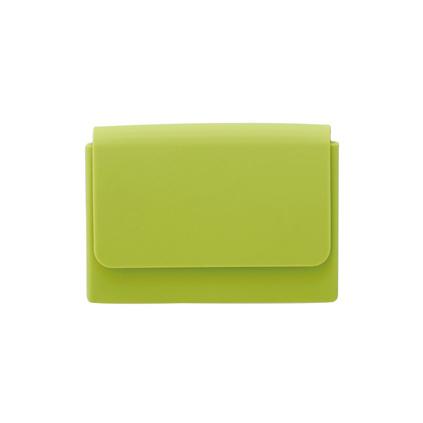 硅膠雙層名片盒(綠色)定制