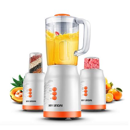 HYUNDAI/現代 多功能料理機攪拌家用嬰兒輔食豆漿果汁機