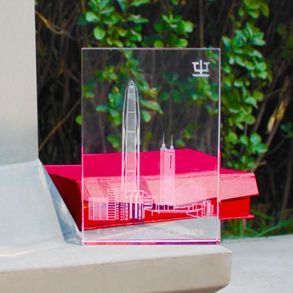 K9水晶內雕圖案定制水晶獎杯水晶擺件定制