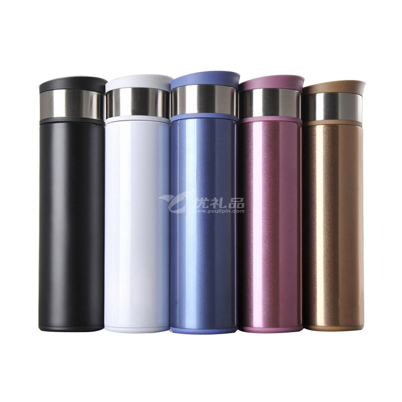 雙層不銹鋼真空辦公保溫杯廠家直銷手提男士高檔商務禮品定制水杯定制