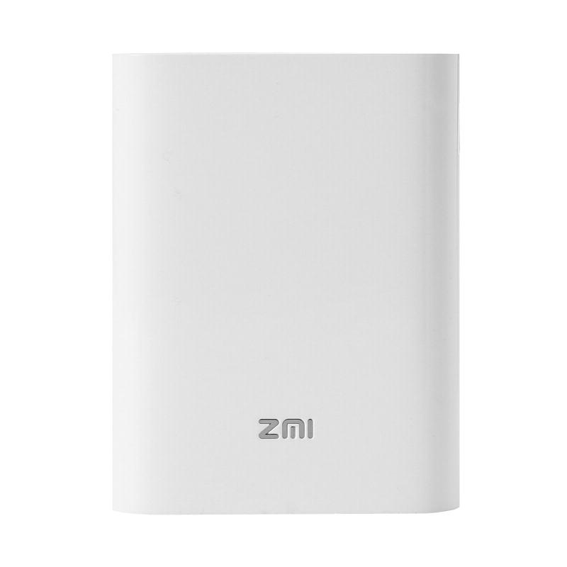 ZMI 7800毫安 联通/移动/电信/全网通/移动电源/充电宝 随身mifi 4G无线路由器 MF855 白色必威bet