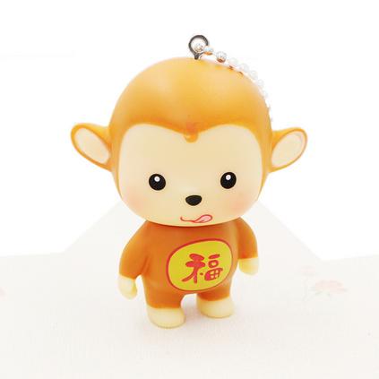 雞年新款可愛卡通猴子鑰匙扣掛件 金屬掛件