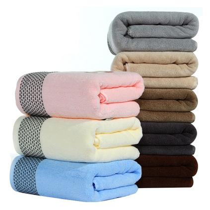 三利毛巾 加大加厚純棉毛巾 加大加厚浴巾660g浴巾