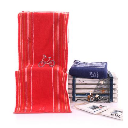三利毛巾  經典船錨運動毛巾 純棉健身專用運動巾