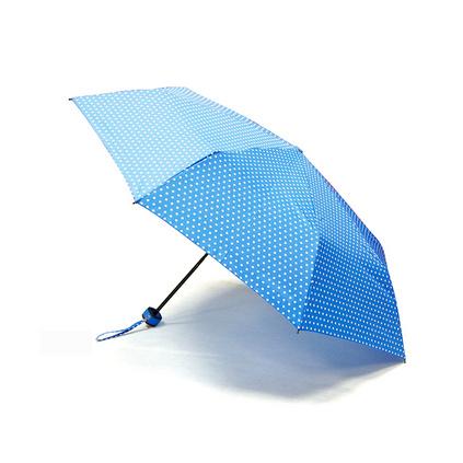 圓點方柄傘(天藍)雨傘定制