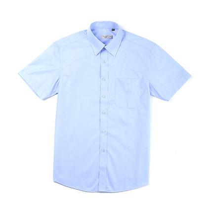 夏季男式襯衫團體定制 純色商務男襯衣定制