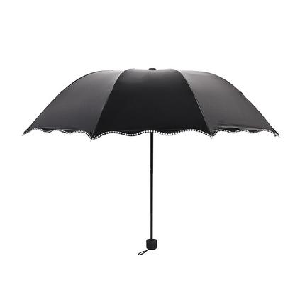 創意十二星座折疊黑膠傘定制