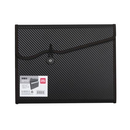 得力 時尚彩色創意 文件包 手提式公文包 (A4)風琴包定制