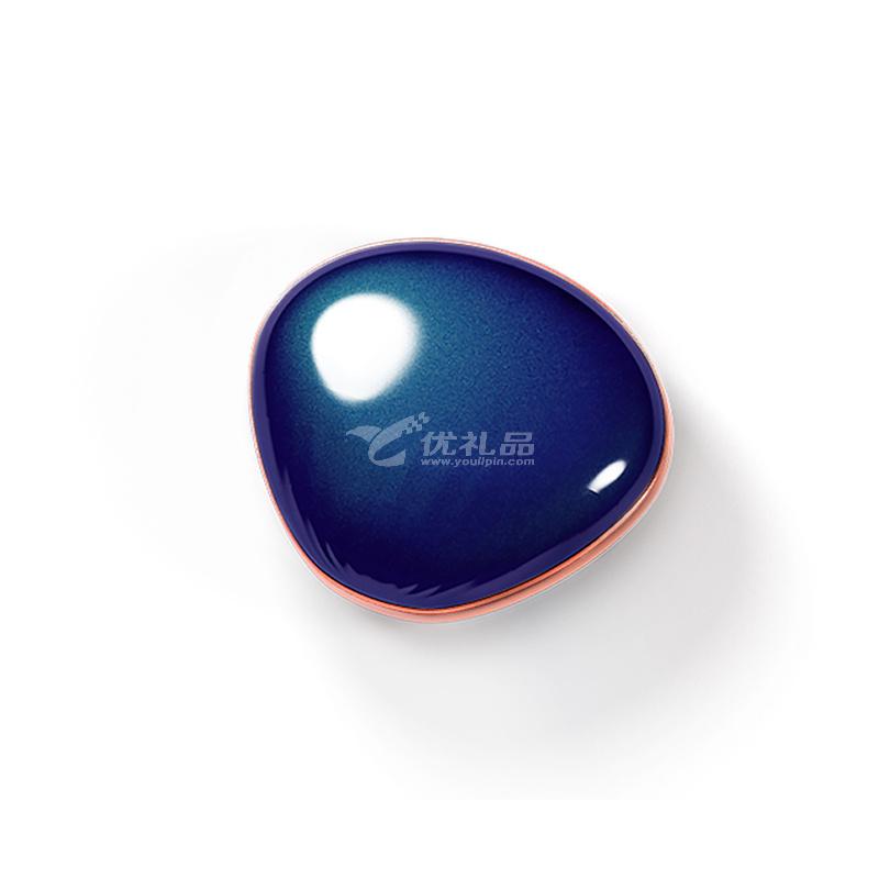 海贝马卡龙暖手宝迷你USB充电防爆电热饼随身可爱充电宝 特别版 4000毫安
