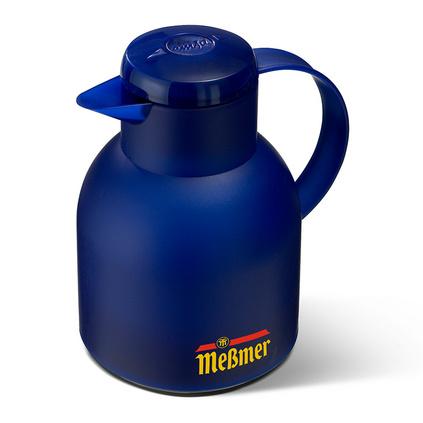 桑巴快捷玻璃內膽家用大容量德國進口保溫壺瓶暖壺1L