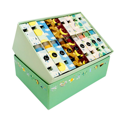 气味图书馆 自然系列9只装3ml礼盒套装 持久淡香水礼盒 女士香水 学生香水礼盒套装定制