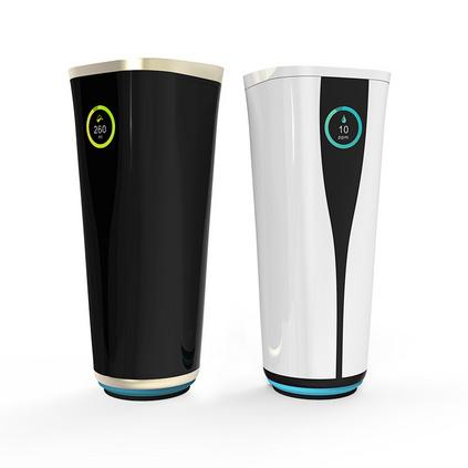 嘿逗智能水杯提醒喝水 顯示溫度水質監測定位功能高科技高檔水杯