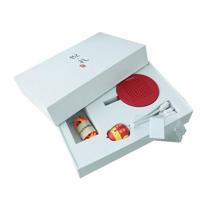 创意鸡年数据线蓝牙音箱三件套礼盒套装定制