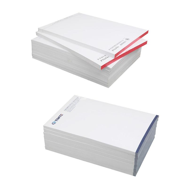 100g膠版紙信紙100張 公司信封信箋抬頭紙信紙本書寫彩色便簽紙印刷定制