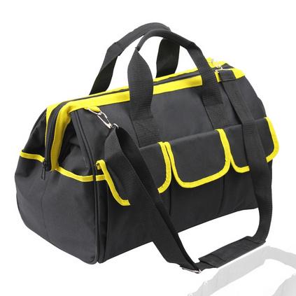 新款創意多功能鋼圈加厚牛津布工具包 電工維修單肩背手提包