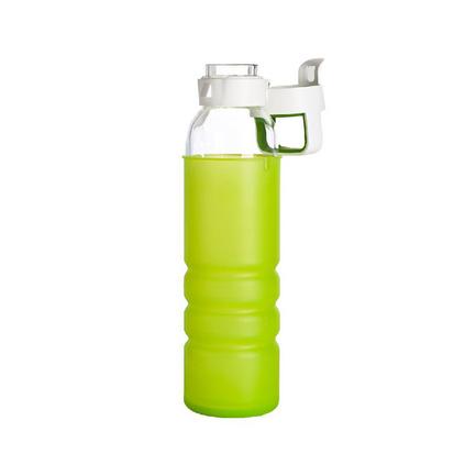 美國康寧便攜耐熱玻璃運動水壺SN-OZ500-OR/CN冷水瓶500ml正品定制