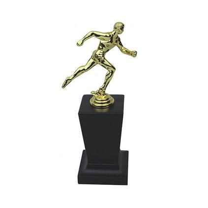 跑步人像奖杯定制 高档奖杯 个性奖杯定做