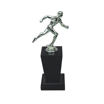跑步人像獎杯定制 高檔獎杯 個性獎杯定做