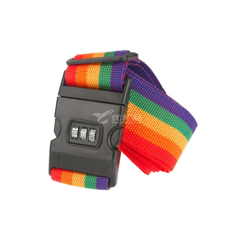 海關密碼鎖行李打包帶行李牌三件套旅行套裝
