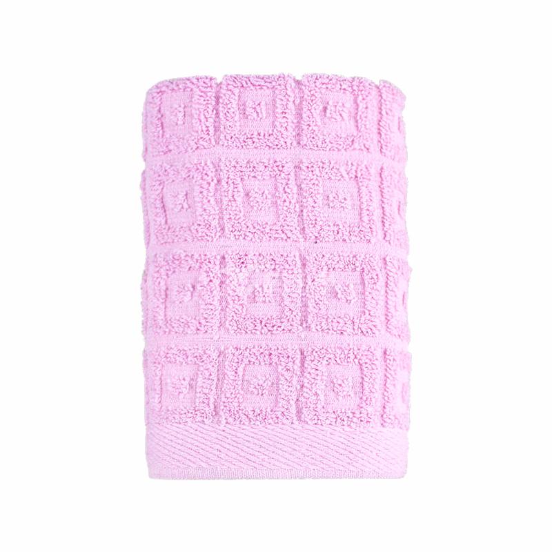 純棉素色回型紋薄款毛巾 易擰速干防止細菌滋生 禮盒套裝毛巾