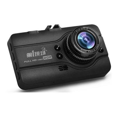 现场D108高清红外夜视行车记录仪停车监控 合金机身1080P高清