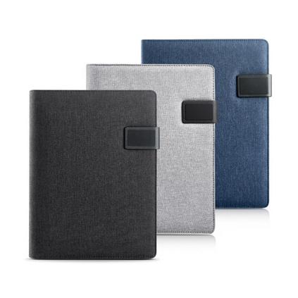 A4多功能資料文件夾房產4S店銷售經理夾簽約本亞麻布商務文件夾講定制