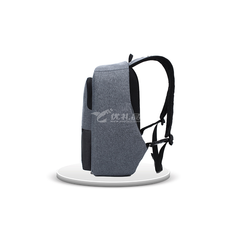 殼羅沃 男士商務安全防盜雅致商務電腦雙肩包 智能屏蔽技術 防水防污耐磨雙肩包電腦包定制