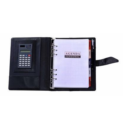 帶計算器帶筆萬用手冊 經理夾定制