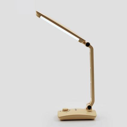 久量LED充电台灯 护眼台灯 折叠充电式无极调光台灯