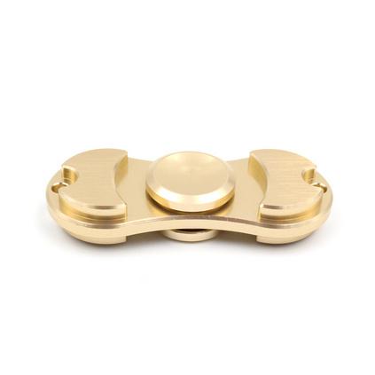 指尖陀螺玩具成人二叶手指间螺旋铝合金减压