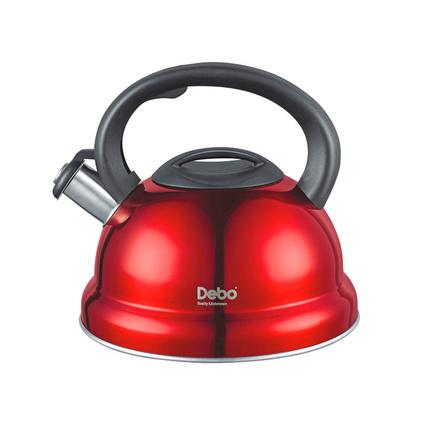 Debo德铂 3L 鸣音水壶鸣笛烧水壶食品级不锈钢家用煤气电磁炉通用海格尔DEP-201
