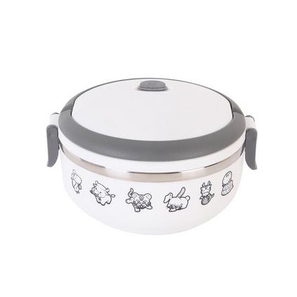 德鉑Debo保溫飯盒 單層飯盒便當盒700ml 不銹鋼內膽德國工藝
