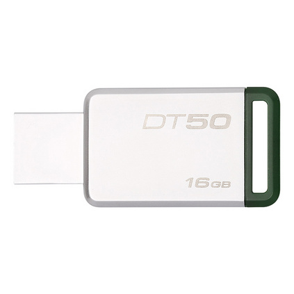 金士頓(Kingston)USB3.1 16GB 金屬U盤 DT50