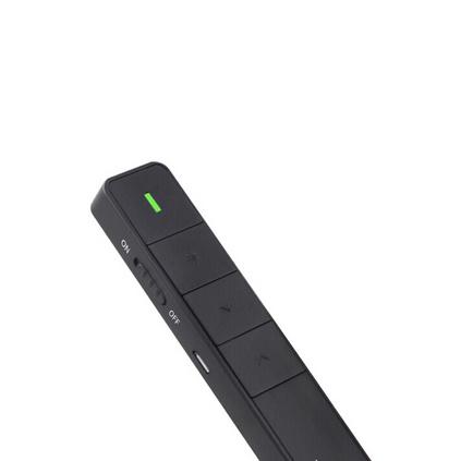 大行(ASiNG) A218 翻頁筆 激光筆翻頁器 PPT投影筆 幻燈片 遙控筆 充電式 黑色 紅光