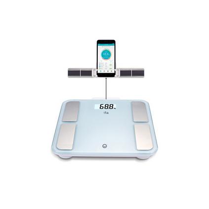 香山智能電子稱體脂秤精準體重秤體脂儀健康稱重八電極人體藍牙脂肪秤EF8898i