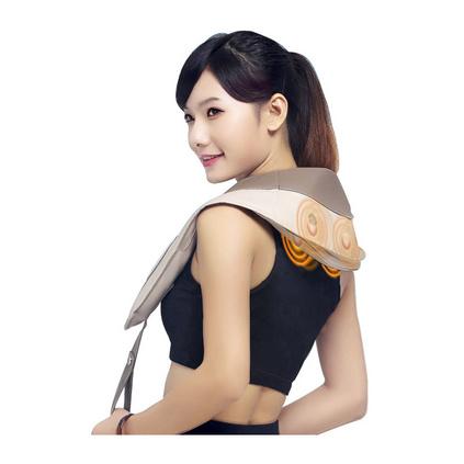 諾泰按摩披肩 頸椎按摩器 頸部肩部腰部捶打按摩 頸肩樂