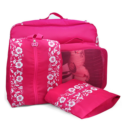 HelloKitty(凱蒂貓)衣物整理旅行套裝